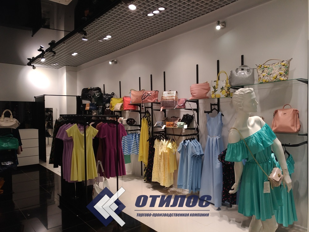 2a7cdcf5c33 Торговое оборудование для магазина одежды